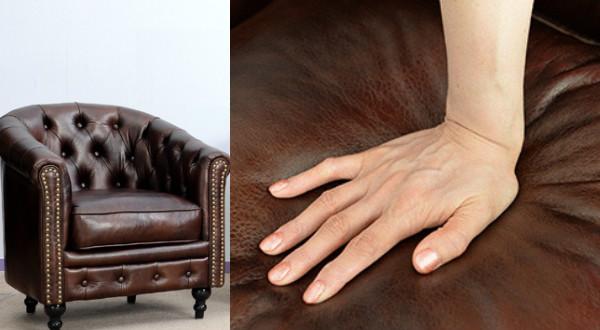 おすすめの革製アンティークソファをご紹介!